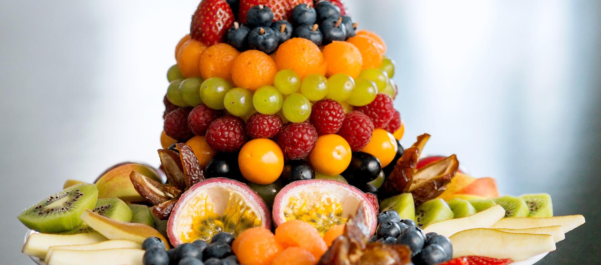 XCG Gebäude – Fruchtteller